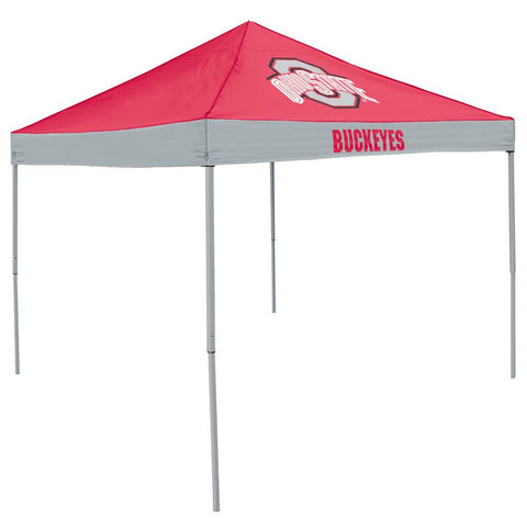 Ohio State Buckeyes NCAA 9' x 9' Economy 2 Logo Pop-Up Canopy Tailgate Tent