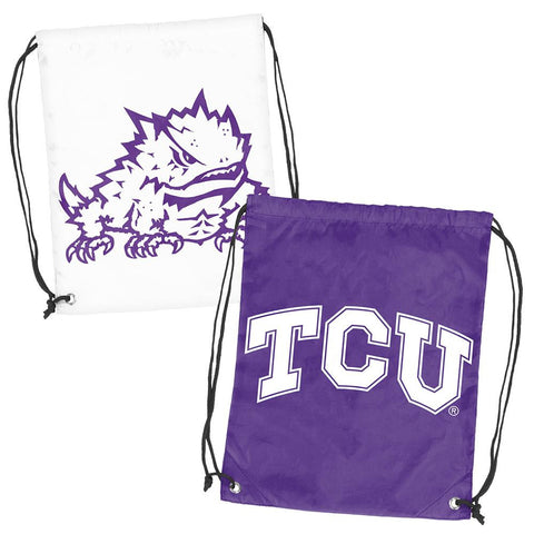 Texas Christian Horned Frogs NCAA Doubleheader Reversible Backsack