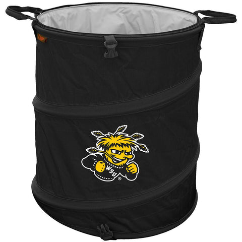 Wichita State Shockers NCAA Collapsible Trash Can