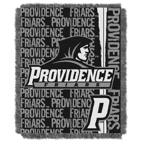 Providence Friars NCAA Triple Woven Jacquard Throw (Double Play Series) (48x60)