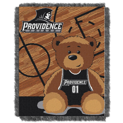 Providence Friars NCAA Triple Woven Jacquard Throw (Fullback Baby Series) (36x48)