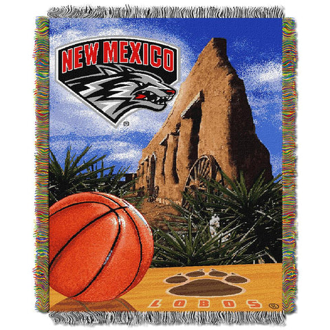 New Mexico State Aggies NCAA Woven Tapestry Throw (Home Field Advantage) (48x60)