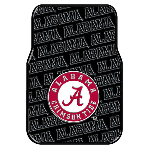 Alabama Crimson Tide NCAA Car Front Floor Mats (2 Front) (17x25)