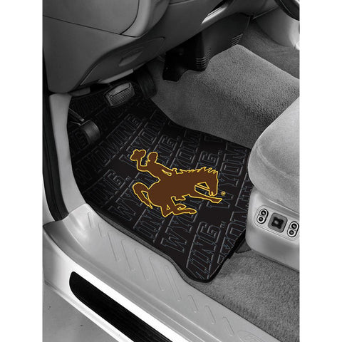 Wyoming Cowboys NCAA Car Front Floor Mats (2 Front) (17x25)