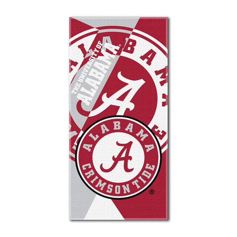 Alabama Crimson Tide NCAA ?Puzzle? Over-sized Beach Towel (34in x 72in)