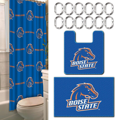Boise State Broncos NCAA 15-Piece Bath Set