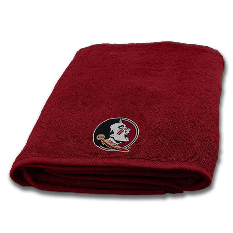 Florida State Seminoles NCAA Applique Bath Towel