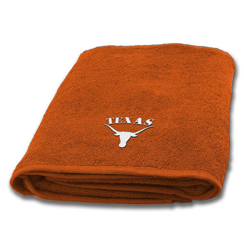 Texas Longhorns NCAA Applique Bath Towel