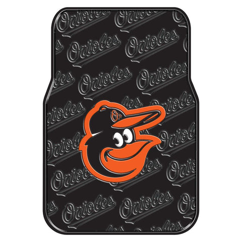 Baltimore Orioles MLB Car Front Floor Mats (2 Front) (17x25)