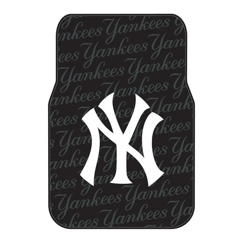 New York Yankees MLB Car Front Floor Mats (2 Front) (17x25)