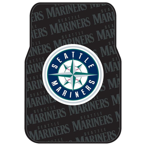 Seattle Mariners MLB Car Front Floor Mats (2 Front) (17x25)