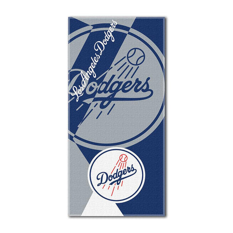 Los Angeles Dodgers MLB ?Puzzle? Over-sized Beach Towel (34in x 72in)