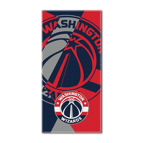Washington Wizards NBA ?Puzzle? Over-sized Beach Towel (34in x 72in)