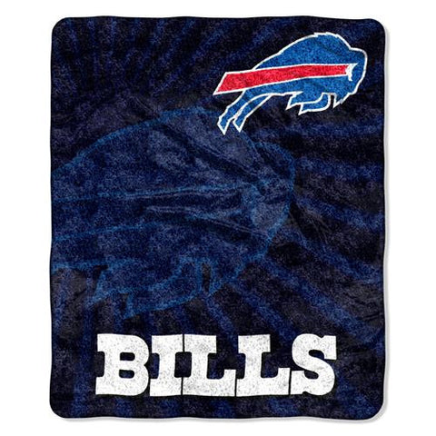 Buffalo Bills NFL Sherpa Throw (Strobe Series) (50in x 60in)