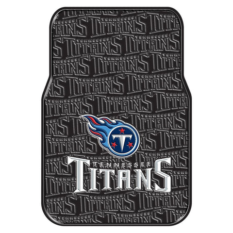 Tennessee Titans NFL Car Front Floor Mats (2 Front) (17x25)