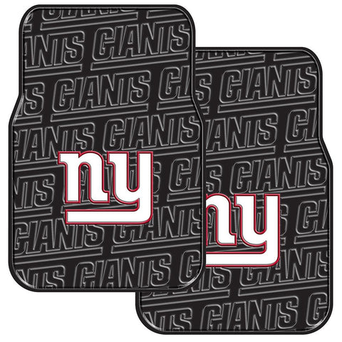New York Giants NFL Car Front Floor Mats (2 Front) (17x25)