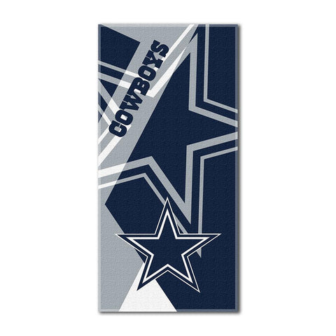 Dallas Cowboys NFL ?Puzzle? Over-sized Beach Towel (34in x 72in)