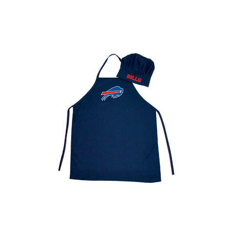 Buffalo Bills NFL Barbeque Apron and Chef's Hat