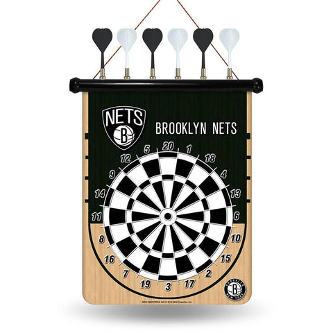 Brooklyn Nets NBA Magnetic Dart Board