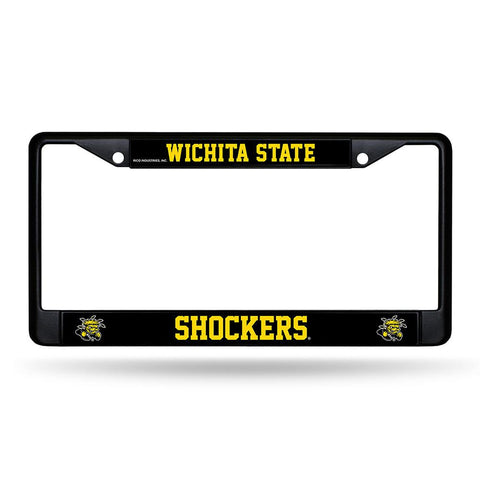 Wichita State Shockers NCAA Black License Plate Frame