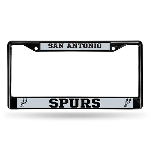 San Antonio Spurs NBA Black License Plate Frame