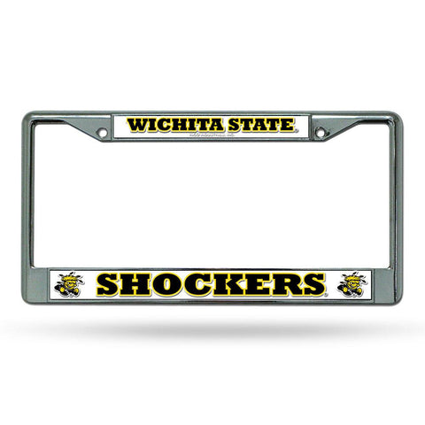 Wichita State Shockers NCAA Chrome License Plate Frame