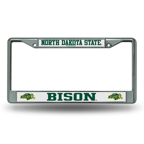 North Dakota State Bison NCAA Chrome License Plate Frame