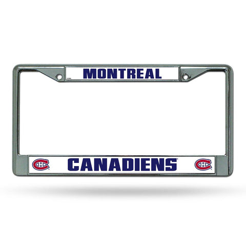 Montreal Canadiens NHL Chrome License Plate Frame