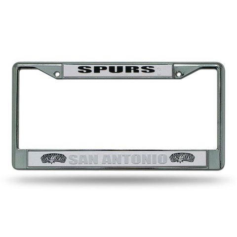 San Antonio Spurs NBA Chrome License Plate Frame