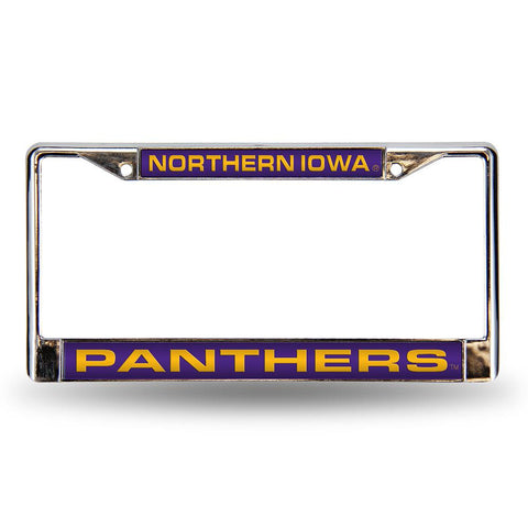 Northern Iowa Panthers NCAA Laser Chrome Frame
