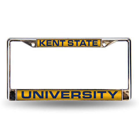 Kent Golden Flashes NCAA Laser Chrome Frame