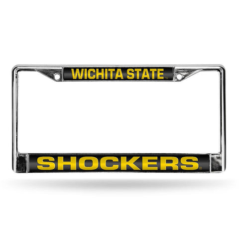 Wichita State Shockers NCAA Laser Chrome Frame