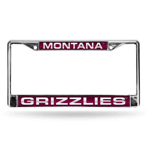 Montana Grizzlies NCAA Laser Chrome License Plate Frame