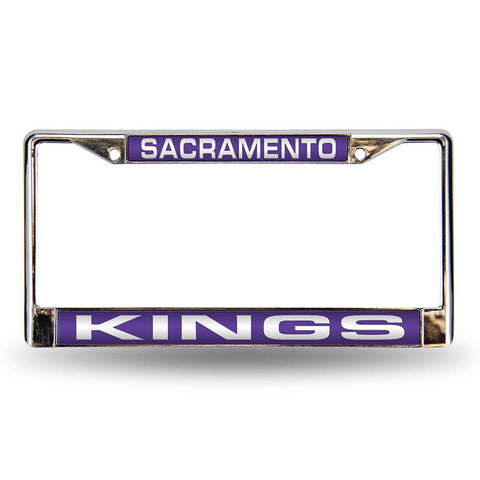 Sacramento Kings NBA Laser Chrome Frame