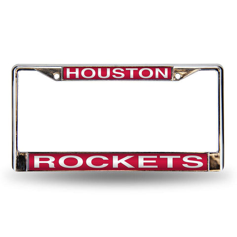 Houston Rockets NBA Laser Chrome Frame