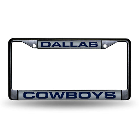 Dallas Cowboys NFL Laser Cut Black License Plate Frame