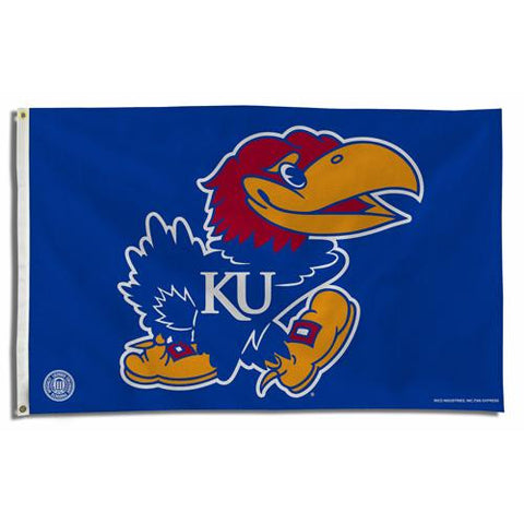 Kansas Jayhawks NCAA 3x5 Flag