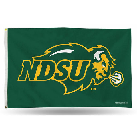 North Dakota State Bison NCAA 3in x 5in Banner Flag