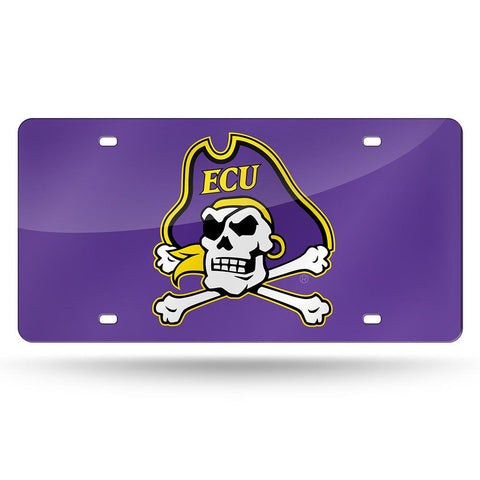 East Carolina Pirates NCAA Laser Cut License Plate Tag