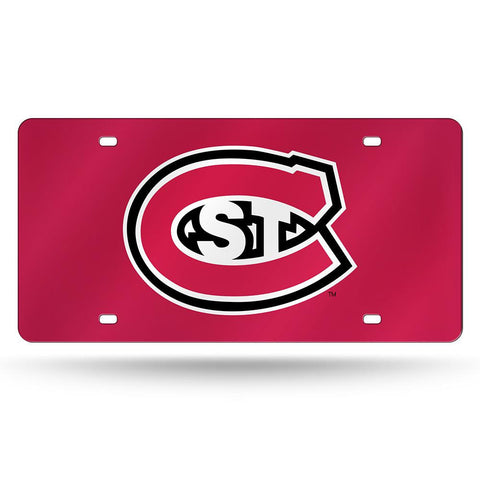 St Cloud State Huskies NCAA Laser Cut License Plate Tag
