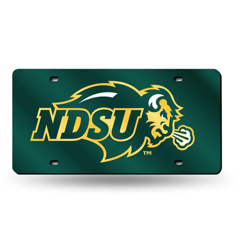 North Dakota State Bison NCAA Laser Cut License Plate Tag