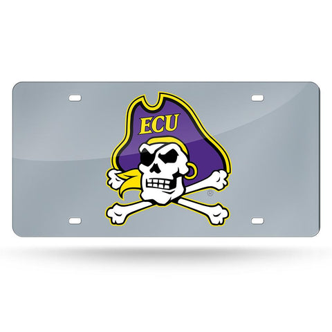 East Carolina Pirates NCAA Laser Cut License Plate Cover