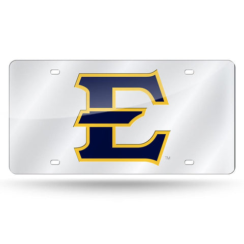 East Tennessee State Buccaneers NCAA Laser Cut License Plate Cover