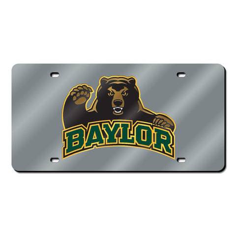 Baylor Bears NCAA Laser Cut License Plate Cover