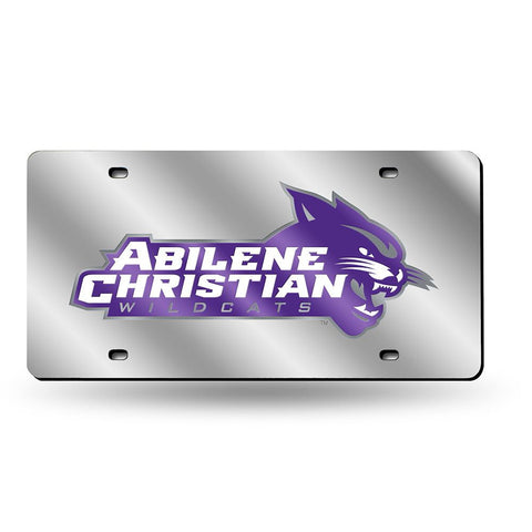 Abilene Christian Wildcats NCAA Laser Cut License Plate Cover