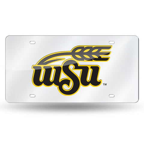 Wichita State Shockers NCAA Laser Cut License Plate Cover