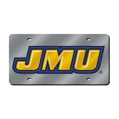 James Madison Dukes NCAA Laser Cut License Plate Cover