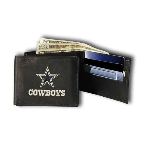 Dallas Cowboys NFL Embroidered Billfold Wallet