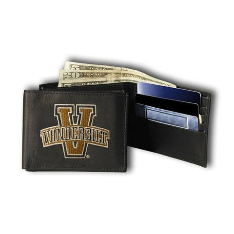 Vanderbilt Commodores NCAA Embroidered Billfold Wallet