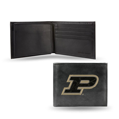 Purdue Boilermakers  Embroidered Billfold Wallet